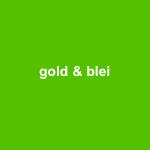 gold & blei - temporäre installation