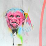 Fürer (ape_man_kind) - Buntstift auf Papier 37x27cm (2012)