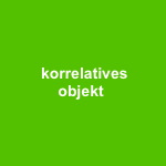 korrelatives objekt - temporäre installation