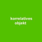korrelatives objekt - temporäre installation