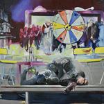 Das Spiel 140 x 170cm Öl auf Leinwand (2011)
